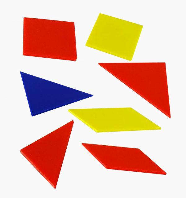 Tangram en Plástico x3 (Tarro Plástico)