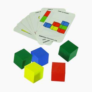 Juego de Cubos de Colores
