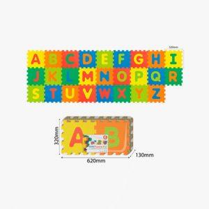 2195-Tapete rompecabezas alfabeto ingles