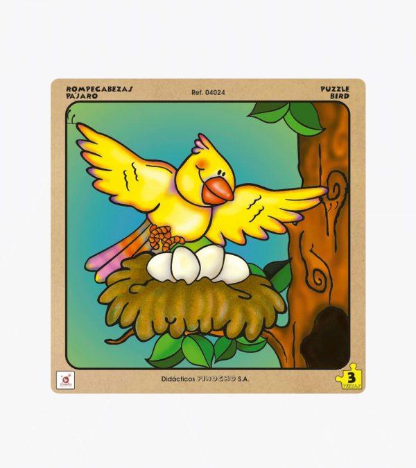 Rompecabezas El Pájaro x3 Pzs.