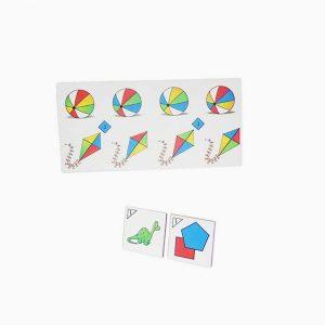 Batería de Percepción Color - Formas (5 Loterías)