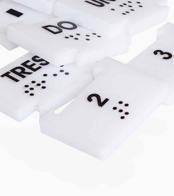Rompecabezas Números en Braille